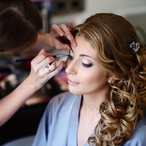 bridal hair makeup Newport Beach