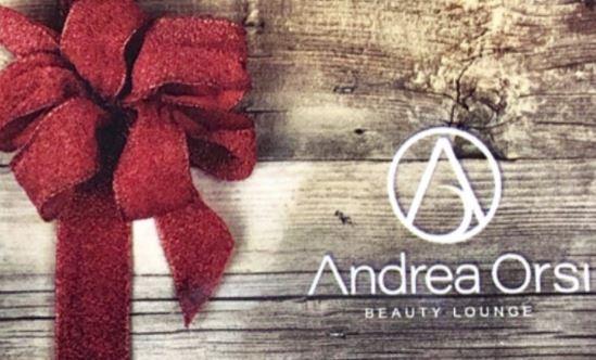 Andrea Orsi Beauty Lounge gift card