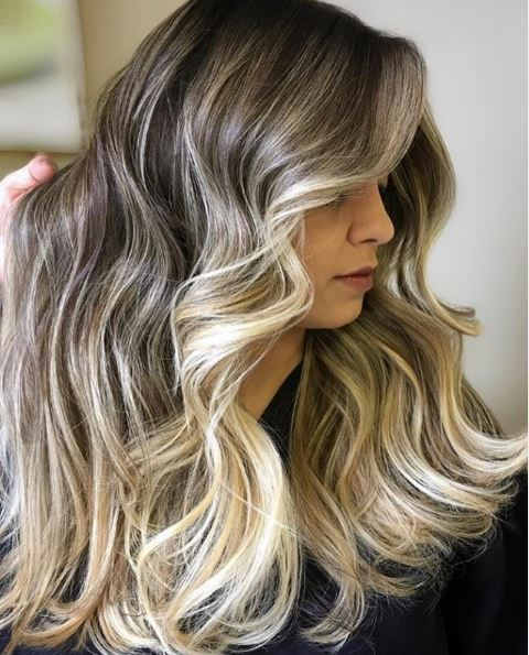 Hair salon Newport Beach Ombre hair color