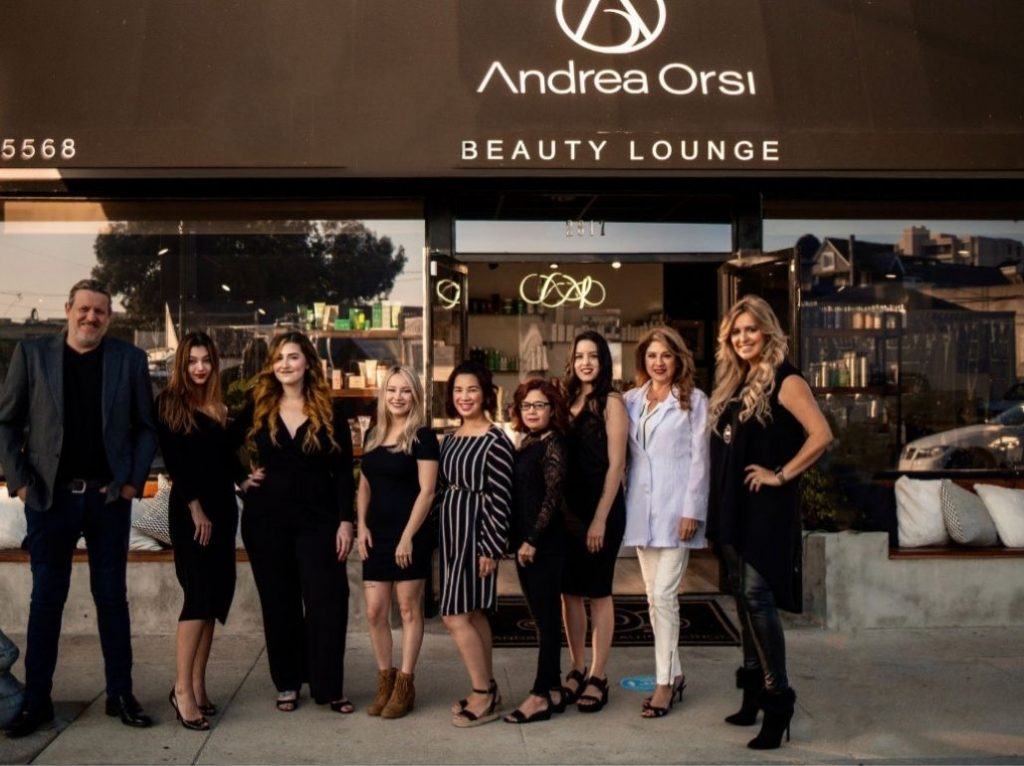 Andrea Orsi Beauty Lounge staff photo