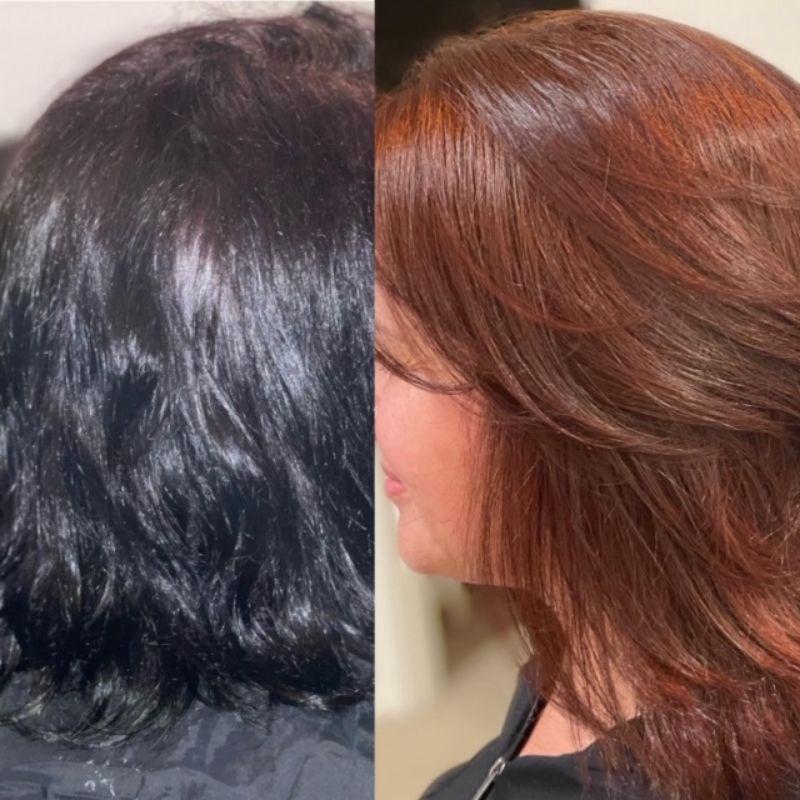 hair color correction Newport Beach