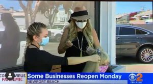 Andrea Orsi beauty Lounge on CBS and Kcal
